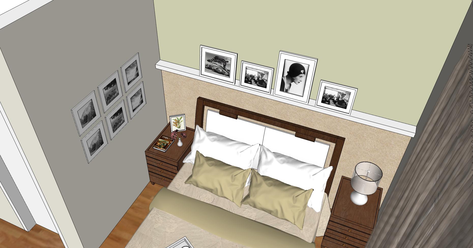 Consultoria dads dormit rio su te e escrit rio for Quadros dormitorio