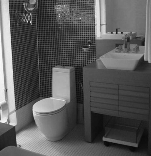 decoracao de banheiro retangular pequeno – Doitricom -> Decoracao De Banheiro Pequeno