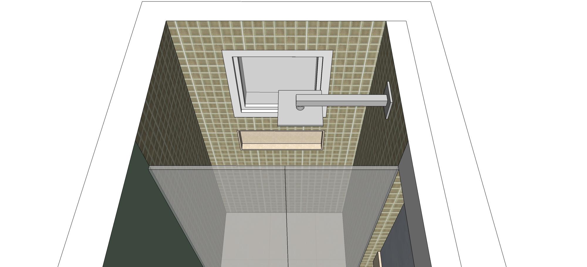 Imagens de #746F57 Proposta banheiro – Ane C. – KzaBlog Casa e Decoração 2000x910 px 2840 Box Banheiro Lar Center