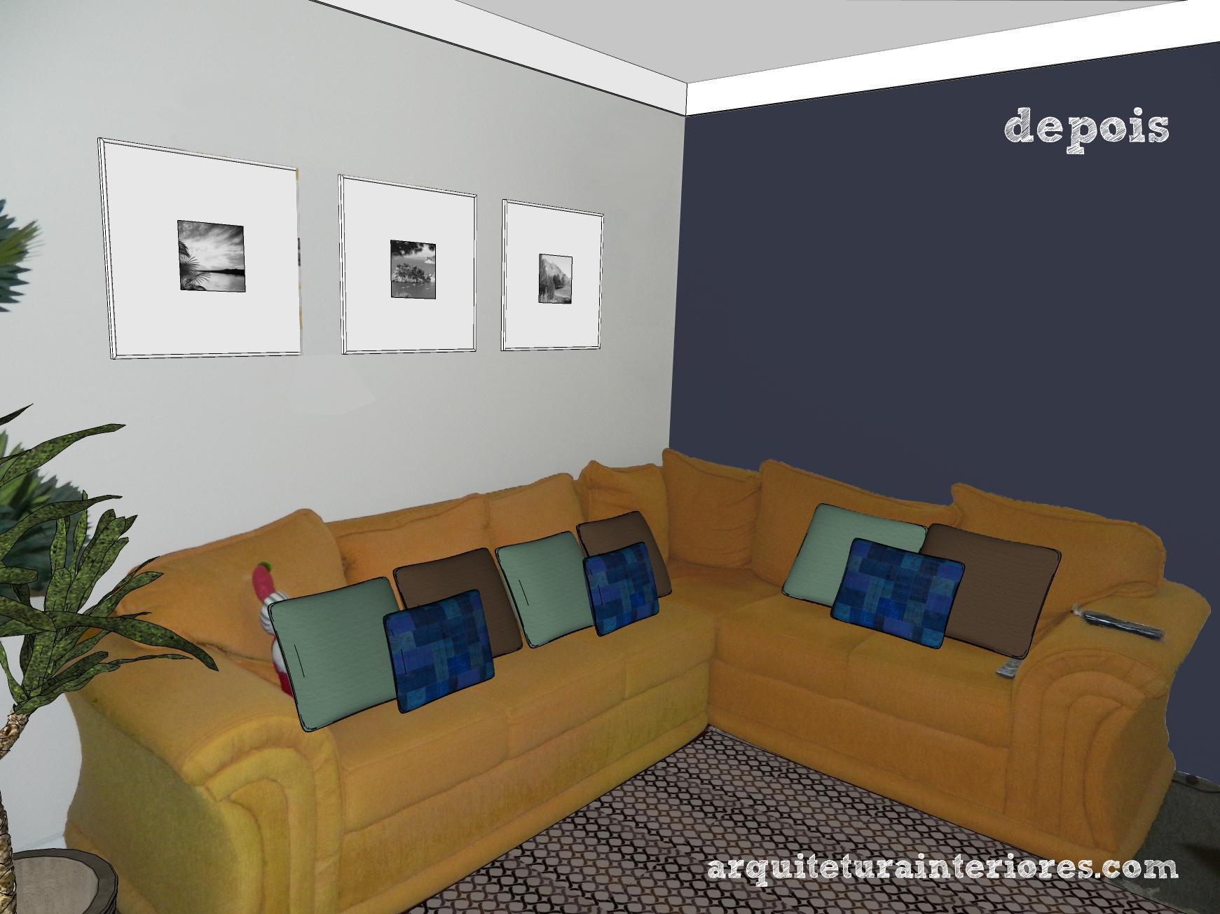Cores De Sofa Para Sala Qual O Sofa Ideal Para Uma Sala Pequena  -> Sala Cinza Com Sofa Marrom