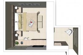 Projeto 3D dormitório suite
