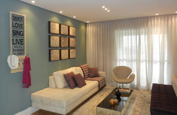 Sala De Estar Com Detalhes Amarelo ~ Minha casa a sala de jantar e estar da Andrea – KzaBlog  Casa e