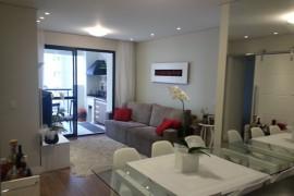 Sala de estar + jantar - projeto Arquitetura + Interiores executado pela cliente