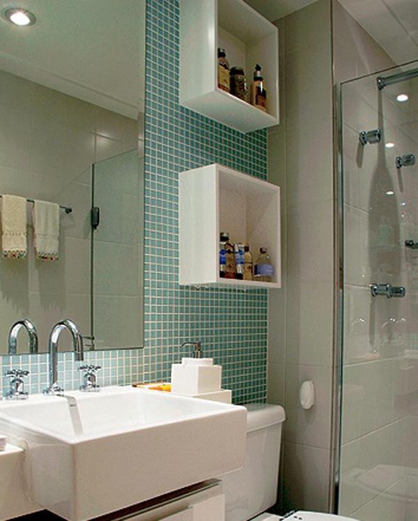Arquitetando Na Net Nichos no Banheiro -> Nicho Para Banheiro Toalhas