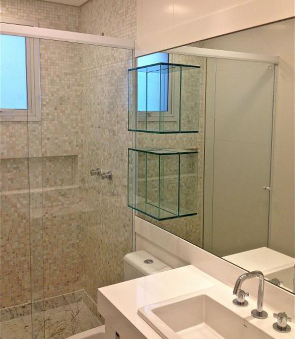 Arquitetando Na Net Nichos no Banheiro -> Nicho Para Banheiro Em Acrilico