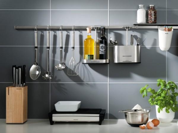 barra organizadora na cozinha