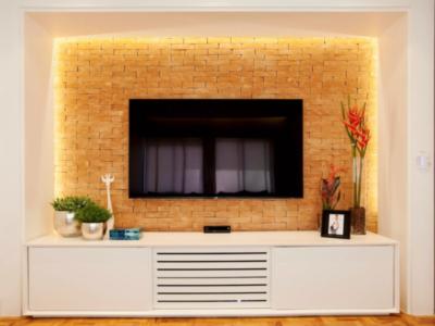 Altura da TV na parede
